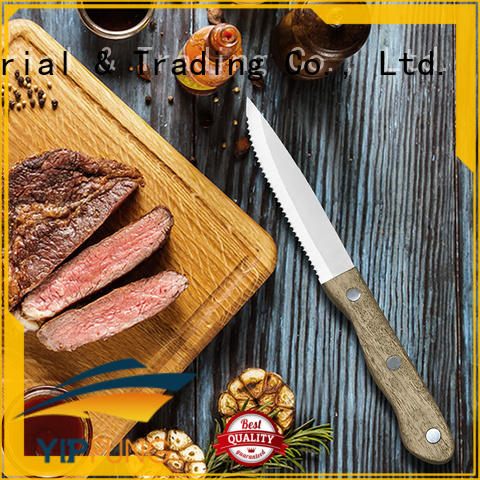 durable serrated steak knives factory direct supply for dinner